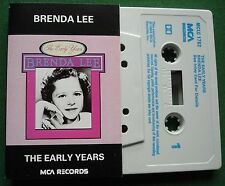 Brenda Lee The Early Years inc Your Cheatin' Heart + Cassette Tape - TESTED