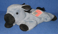 TY ORIGINAL LEFTY the DONKEY BEANIE BABY - MINT - NO HANG TAG