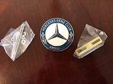 Official Mercedes Benz Car Club of America Grill Badge Emblem Hood Ornament MBCA