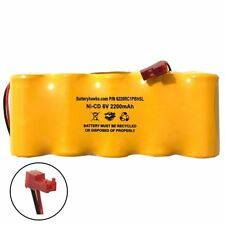 6v 2200mAh Ni-CD Battery Pack Replacement for Emergency / Exit Light