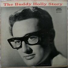 1959 The Buddy Holly Story (BH and the Crickets) US VG+ Vinyl LP Record Album