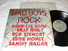 """Bad Boys of Rock"" 1986 Rock LP, Nice VG++!, Various: Billy Idol,Sammy Hagar,+++"