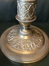 Bougeoir Bronze doré Charles X Vers 1830 Candlestick XIX
