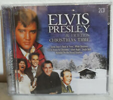 2 CD ELVIS PRESLEY & FRIENDS - CHRISTMAS TIME - NUOVO NEW