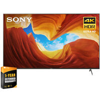 "Sony 85"" X900H 4K UHD Full Array LED Smart TV 2020 Model + Extended Warranty"