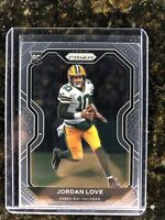 2020 Panini Prizm Jordan Love Rookie Rc Green Bay Packers #363