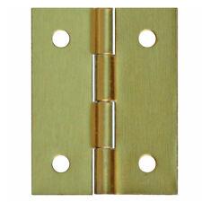 100 Bisagra Muebles yoyeros - Bisagras mini bisagras 20 x16mm Oro