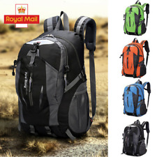 40L Comfortable Outdoor Waterproof Hiking Rucksack Camping Bag Travel Backpack