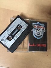 L.A. GUNS - SELF TITLED CASSETTE TAPE K7 VERTIGO