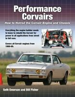 Performance Corvairs Book How To Hotrod Engine Emerson Fisher Corsa Spyder