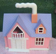 Puppenhaus MERITUS Haus mit Licht Polly Pocket Playmobil Puppen Spielhaus !!!