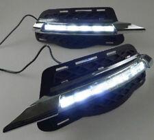 2x LED daytime running light DRL fog lamp cover for BENZ W204 C250 C300 2007-10