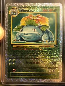 2002 Pokemon Legendary Collection Venusaur Reverse Holo 18/110 NM/MT