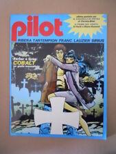 PILOT Rivista Fumetti n°8 1982 Christin Bilal - Ribera Dracurella [D9]