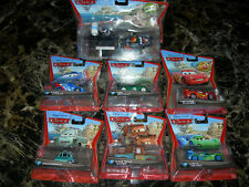 NEW x7 Cars 2 Carla Veloso Mater Raoul Nigel Prof Z Max Lightning McQueen Pixar
