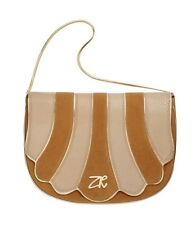 Zandra Rhodes Camel & Gold Chic Occassion Wedding Party Designer Shoulder Bag