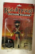 DAMAGED PACKAGING Accoutrements Blackbeard Pirate Action Figure Black Beard