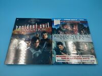 neuf lot de 2 film blu ray capcom resident evil damnation vendetta