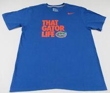 Nike Swoosh - University Florida - That Gator Leben - Groß Blau T-Shirt - T389