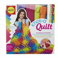ALEX Toys Knot-A-Quilt 383WN Craft Kit NEW