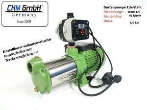 CHM GmbH Kreiselpumpe Edelstahl 1,5 KW + vollaut. Steuerung Trockenlaufschutz