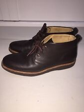 Samuel Hubbard Men's 13M  Ankle Boots Whiskey Brown No Insoles