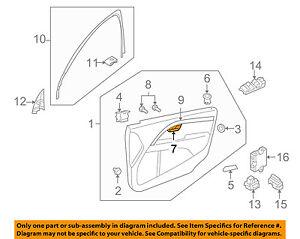 VOLVO OEM 09-16 XC70-Interior Door Handle Left 39862307