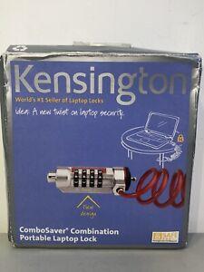 Kensington ComboSaver Combination Portable Laptop Lock #K64576US NIB 6' Cable