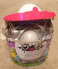 Hatchimals Egg ‑ Pengualas ‑green/purple spots - Open/Torn Box, Egg Intact