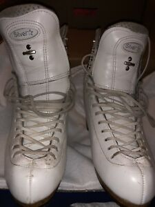 Riedell Model 875 Silver Star size 6 B/A (Boot Only)