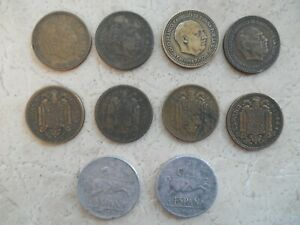 Spain Coins Lot 1940s