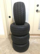 Set Of 4 - Kenda 18X8.50-8 Take Off Golf Cart OEM Tires & Wheels - Barely Used
