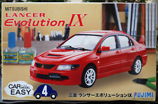 2006 Mitsubishi Lancer Evolution IX Car Model Easy 1:24 JDM Fujimi 077031