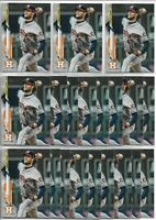 2020 Topps Series 1 Gerrit Cole (20) Card League Leaders Player Lot #2 Astros