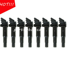 8PCS Ignition Coil For BMW 135i 335i 545i 550i 12138657273 OEM New