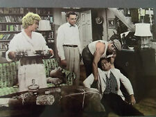 80s MARILYN MONROE POSTCARD 1955 SEven Year Itch scene carrying tray