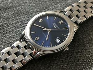 Longines Blue Slim L4.774.4 Stainless Steel L6192 Automatic Watch 36mm