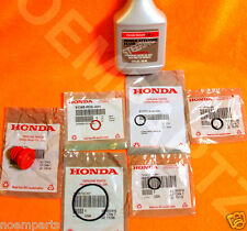 NEW GENUINE HONDA Power Steering Pump Oil O-Ring Seals & Fluid Reseal 7 pc Kit