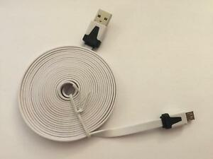 3M/9FT LONG HEAD/CONNECTOR USB MICRO CHARGER/DATA CABLE FOR HTC SAMSUNG ANDROID