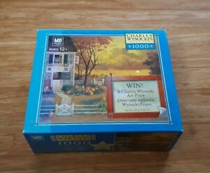 """Charles Wysocki Supper Call NEW With """"Defects"""" Sealed Puzzle 1000 pieces RARE!"""