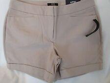"Ladies ""Apt 9"", Size 14, Cobblestone(Tan), Mid Rise, City Short Shorts"