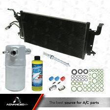 New AC Condenser Kit Fits: 96 - 99 Cadillac DeVille - 96 - 02 Eldorado V8 4.6L