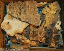 Stacking Ledge Rocks Fish Tank Rock Cichlid Caves Fairy Garden Stones 10 pc