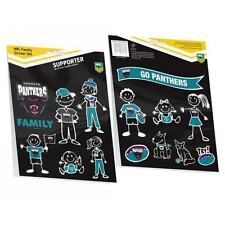 PENRITH PANTHERS NRL TEAM MY FAMILY CAR STICKER DECAL SHEET STICKERS - NEW