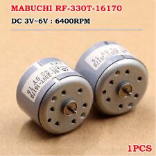 MABUCHI RF-330T-16170 DC 1.5V-6V 6400RPM Micro 24mm Spindle Motor DIY Toy Model
