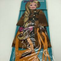 Ideal Fashions Velvet Dina Mia Frontier Gear Doll Outfit Sealed 1972
