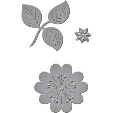 Spellbinders D-Lites Die ~ FLOWERS AND STEM~ S1-028 ~ Shapeabilities