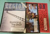 Lot Of 3 Canadian Legion Magazine 1997