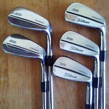 Titleist MB 710 Iron Set 6-PW, Stiff Flex Steel Dynamic Gold S300 Shafts!