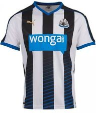 NWT MENS PUMA NEWCASTLE UNITED HOME JERSEY SOCCER WHITE WONGA L 2015-2016
